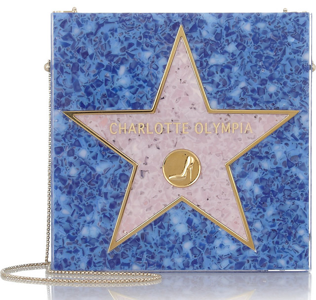 Charlotte Olympia Walk of Fame Perspex Clutch