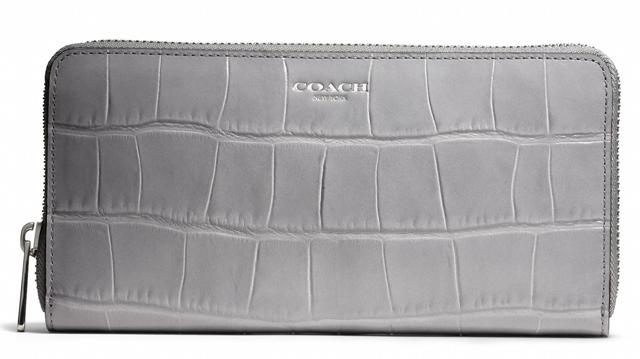 Coach Legacy Accordion Zip Wallet
