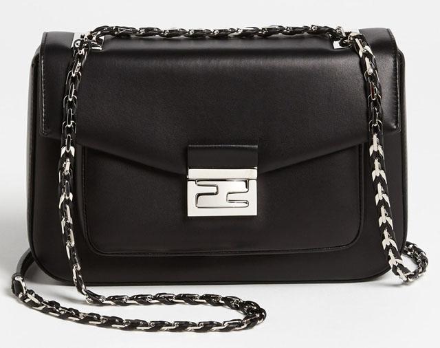Fendi Be Baguette Bag Black