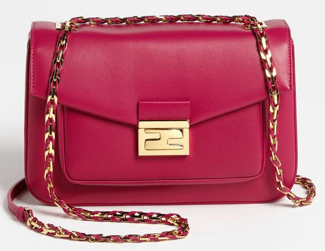 Fendi Be Baguette Bag Pink