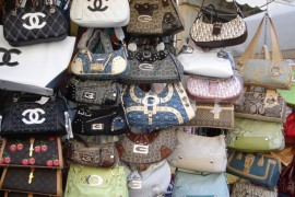 Illegal Counterfeit Handbags