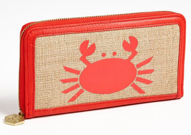 Jonathan Adler Crab Continental Wallet