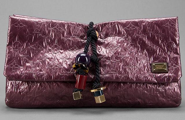 Louis Vuitton African Queen Limelight Clutch