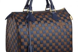 Louis Vuitton Damier Sequin Speedy Bag Navy
