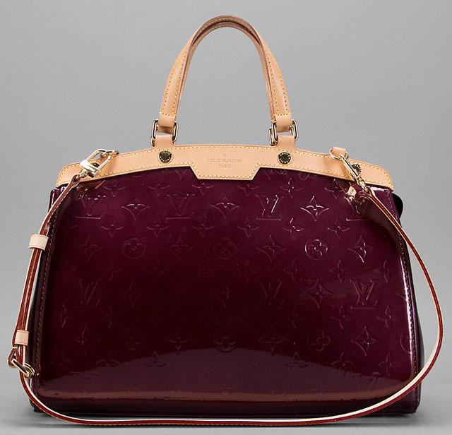 Louis Vuitton Monogram Vernis Brea Bag