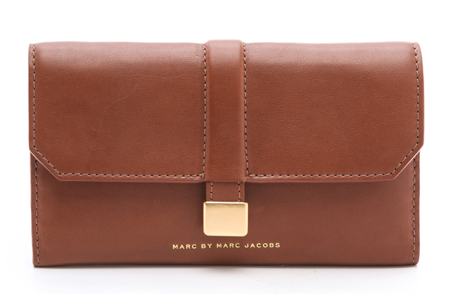 Marc by Marc Jacobs Natural Selection Long Trifold Wallet