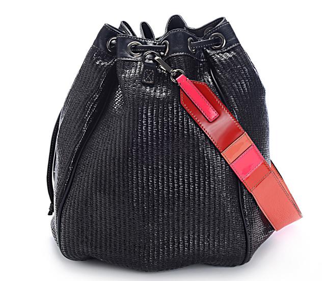 Meredith Wendell Raffia Circle Bag