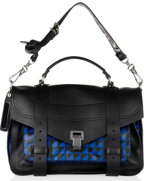 Proenza Schouler Check Print PS1 Bag