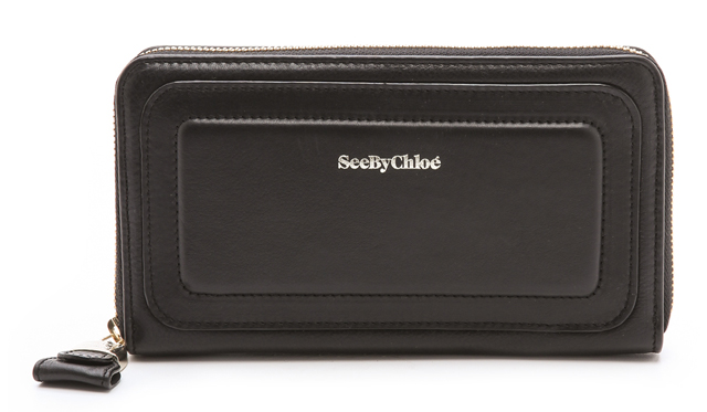 See by Chloe Long Zipped Wallet