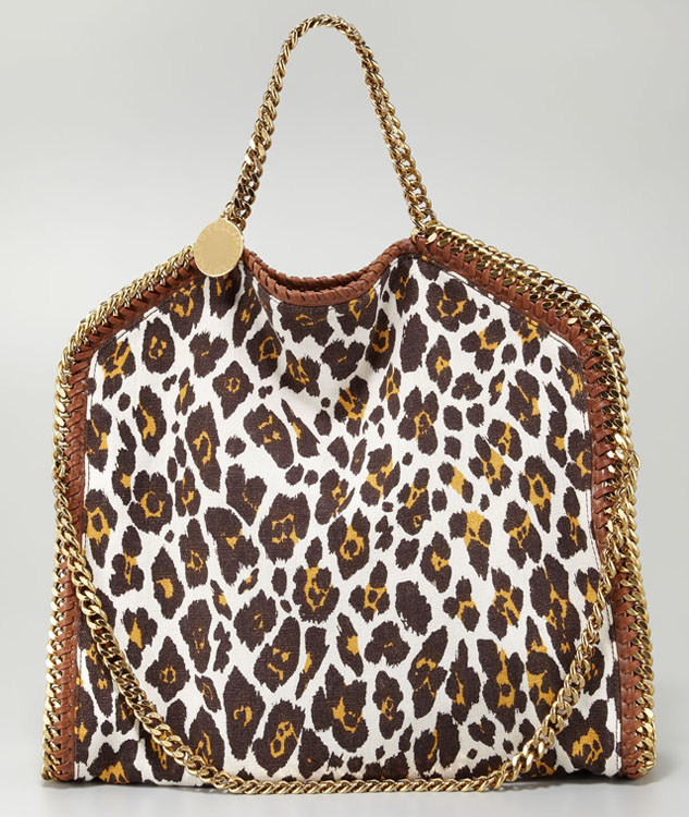 Stella McCartney Falabella Leopard Print Bag