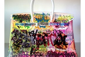 Why Do People Keep Covering Their Hermes Birkins with Graffiti?