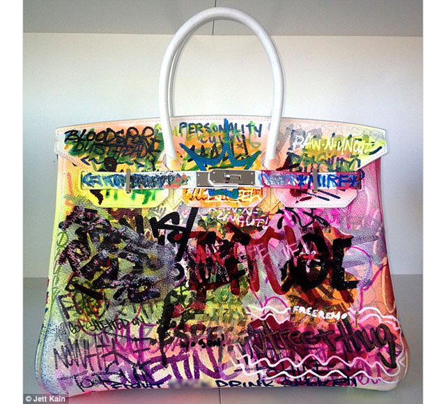 The Mirf Hermes Graffiti Birkin Bag