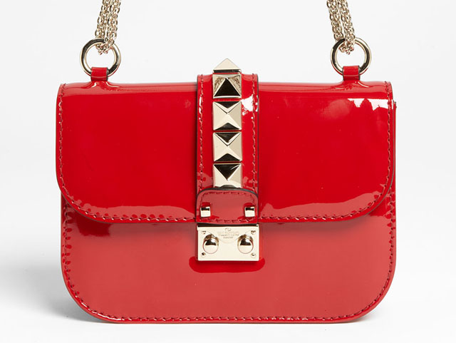 Valentino Patent Lock Bag