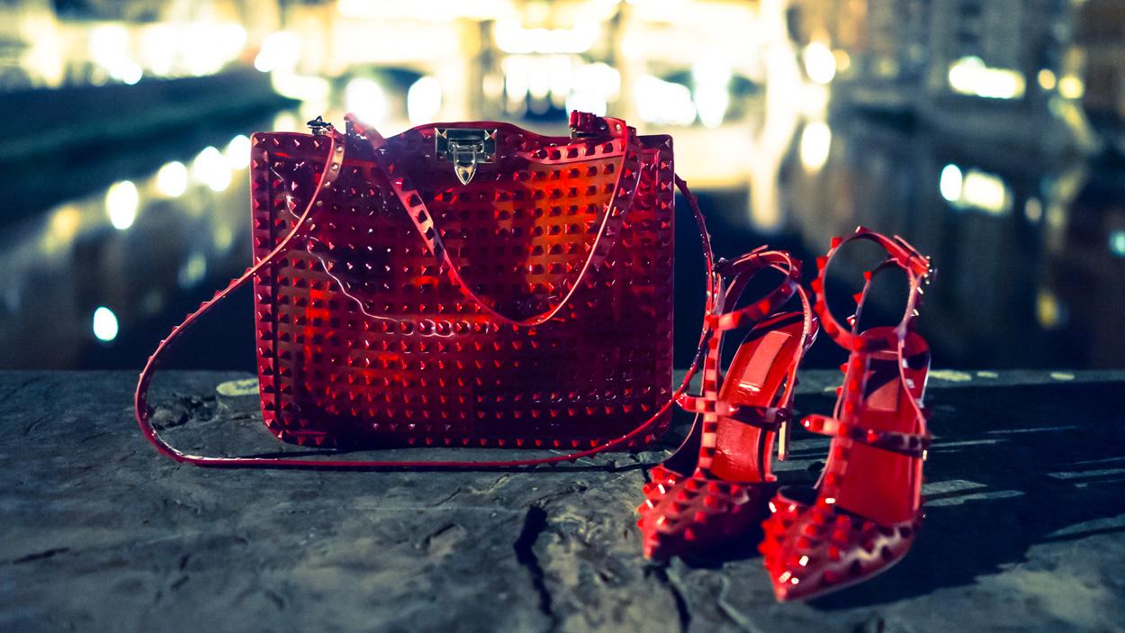 Valentino Rockstud Rouge