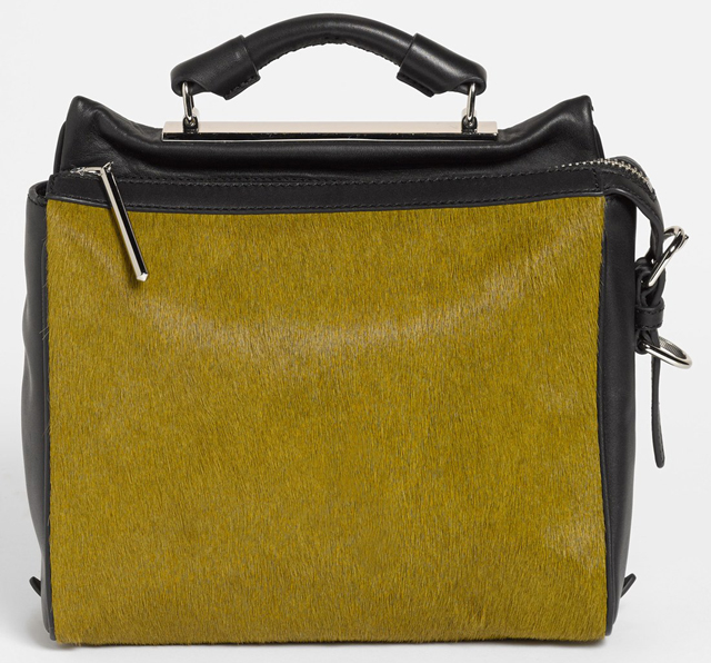 3.1 Phillip Lim Calf Hair Ryder Bag Olive