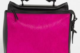 3.1 Phillip Lim Calf Hair Ryder Bag Pink