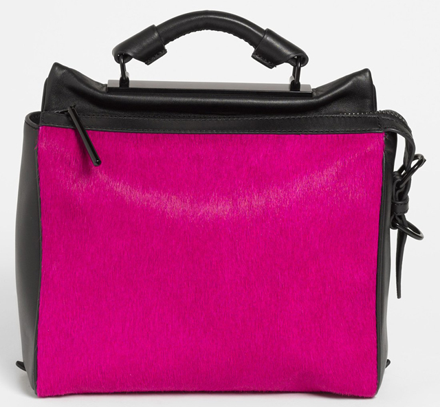 3.1 Phillip Lim Calf Hair Ryder Bag Pink
