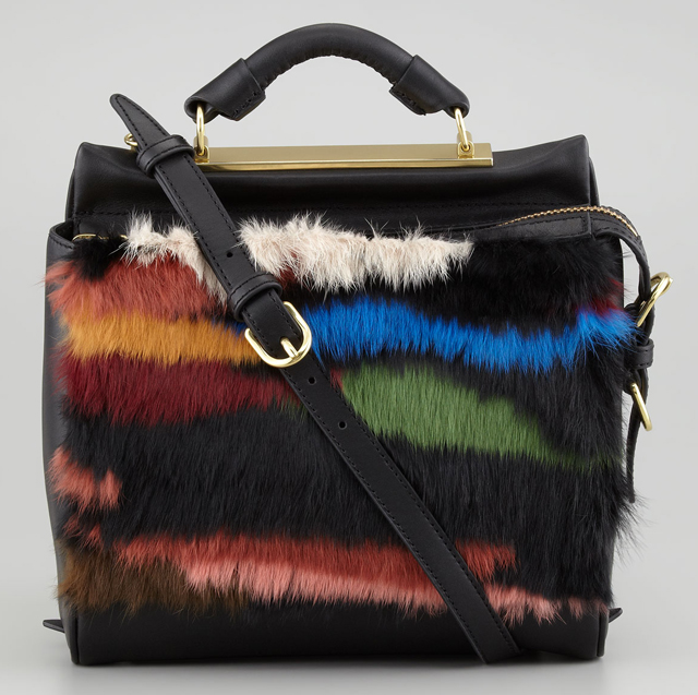 3.1 Phillip Lim Small Fur Ryder Bag