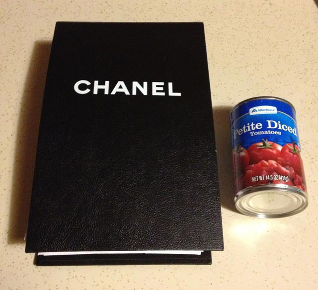 Chanel Box and Tomato Can