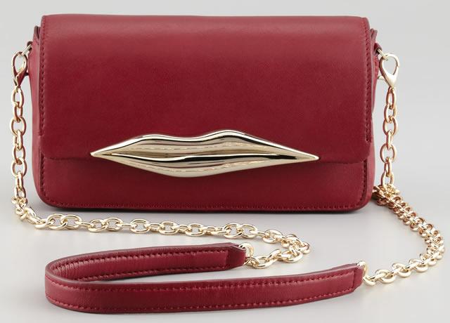 Diane von Furstenberg Flirty Leather Mini Crossbody Bag