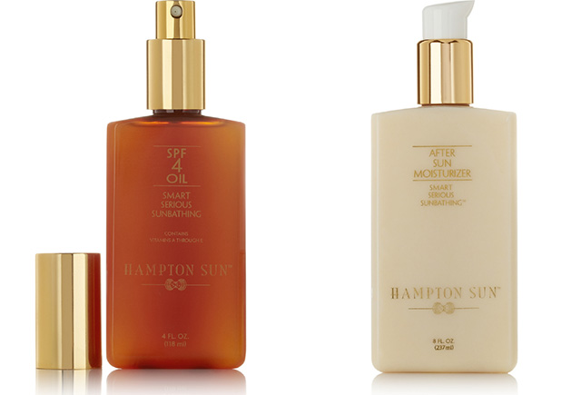 Hampton Sun SPF4 Oil and Moisturizer