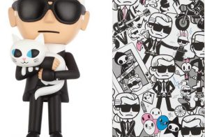 Karl Lagerfeld and Tokidoki Team Up For Adorable Cartoon Accessories and Clothes