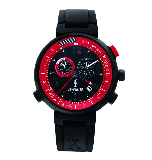 Louis Vuitton America's Cup Watch Black