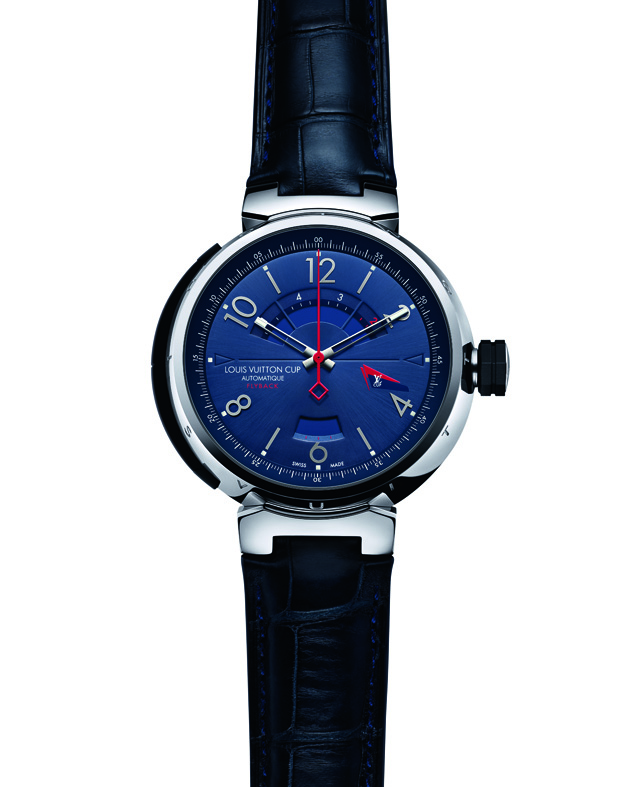 Louis Vuitton America's Cup Watch Leather