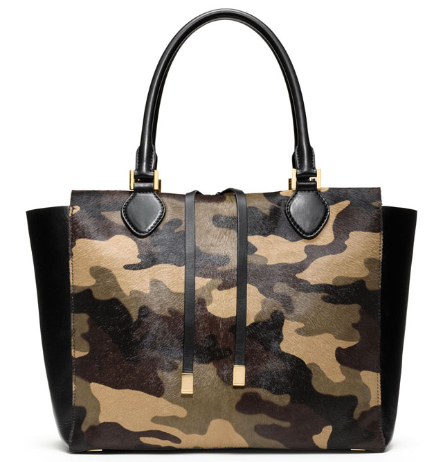 Michael Kors Camo Calf Hair Miranda Bag
