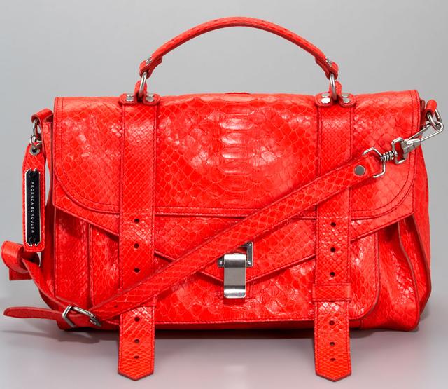 Proenza Schouler Python PS1 Bag