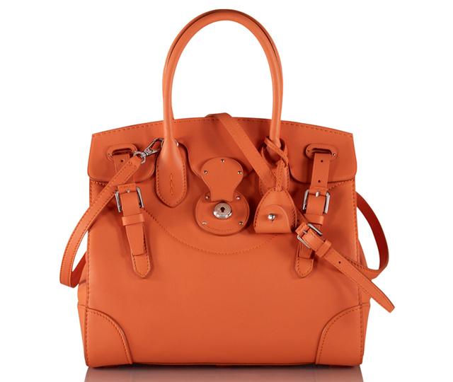 Ralph Lauren Soft Ricky Bag Orange