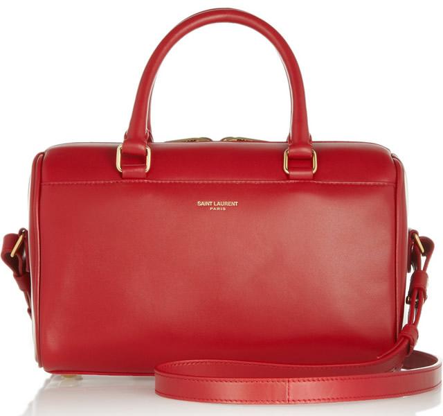 Saint Laurent Classic Duffle 3 leather bag