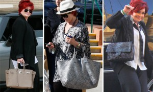The Many Bags of Sharon Osbourne