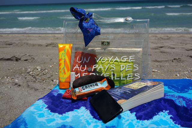Whats in my Hermes Kelly Beach Bag-22