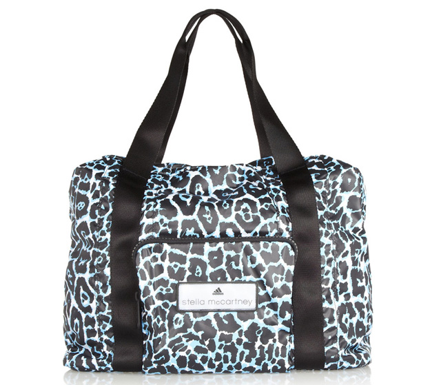 Adidas by Stella McCartney Leopard Print Taffeta Bag Wide