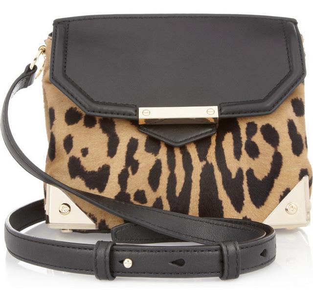 Alexander Wang Marion Leopard Bag