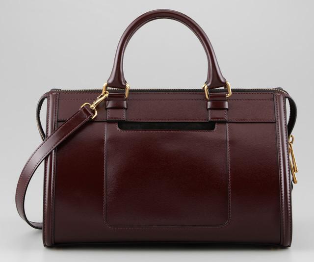 Belstaff Catherine Box Leather Shoulder Bag