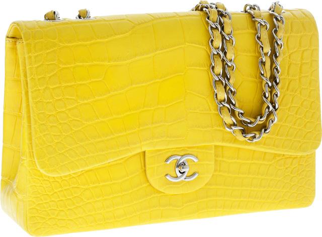 Chanel Classic Flap Bag in Alligator