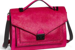 Latest Obsession: The Loeffler Randall Rider Bag in Pink Calf Hair