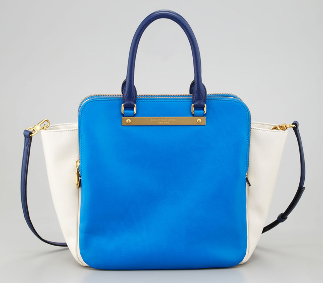 Marc by Marc Jacobs Goodbye Columbus Bentley Colorblocked Tote