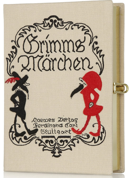 Olympia Le-Tan Grimms Marchen Embroidered Clutch