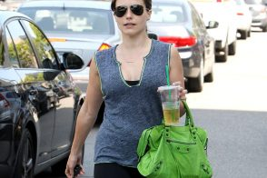 Sophia Bush Does Actress-in-LA Things with a Balenciaga Bag