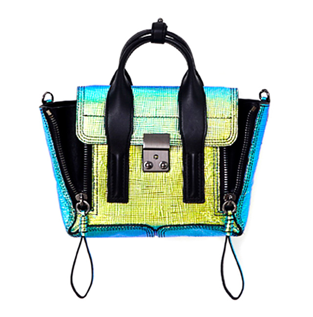 3.1 Phillip Lim Holographic Mini Pashli Bag