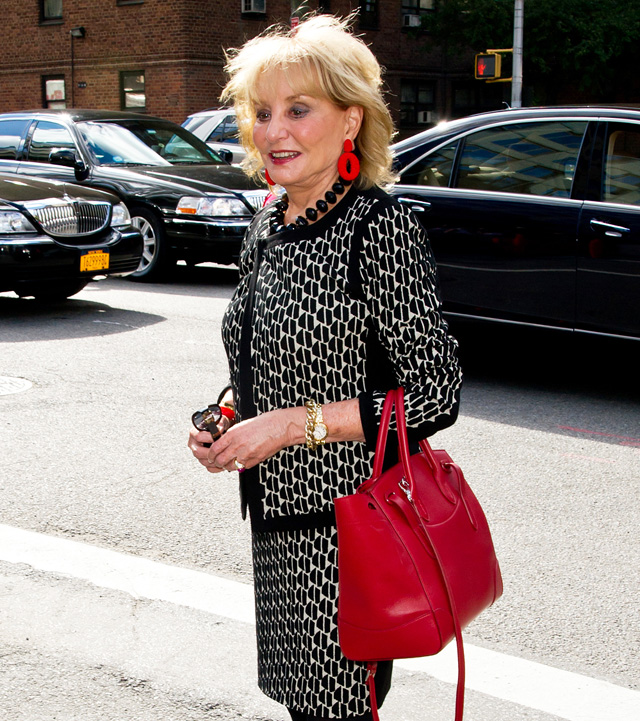 Celebrity sightings during Spring 2014 Mercedes-Benz Fashion Week in New York