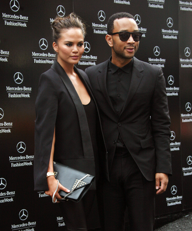 Celebrities attend fashion week in NYC