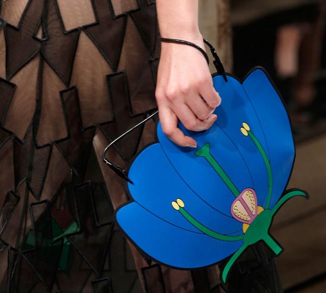 Christopher Kane Flower Clutch Spring 2014