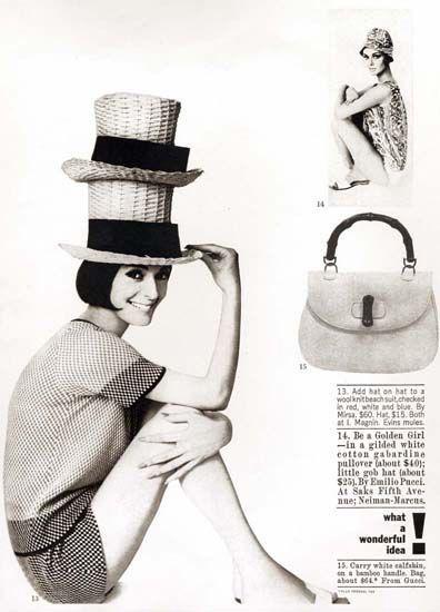 Gucci Advertisement, Harper's Bazaar, 1970s