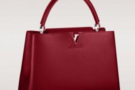 Louis Vuitton Capucines Bag Red