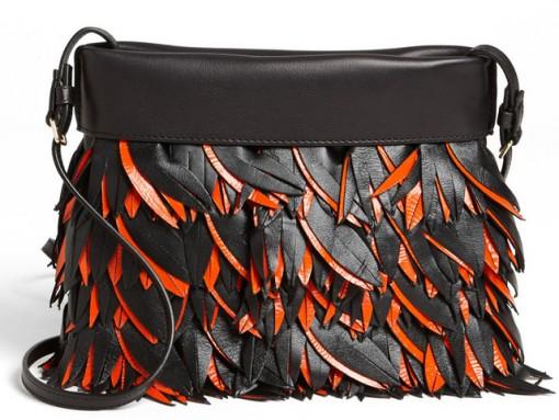 Marni Feather Crossbody Bag
