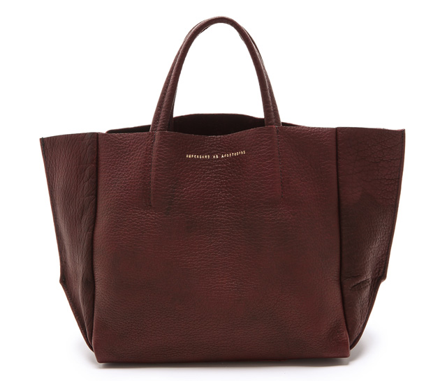 ONE by Ampersand as Apostrophe Half Tote Brown